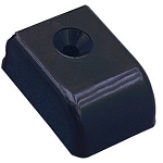 Sliding Track End Cap - Delrin Black
