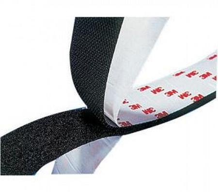 1 black 3m adhesive back loop tape. Black Bedroom Furniture Sets. Home Design Ideas