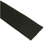 1.4 mm Polypropylene Webbing - Black