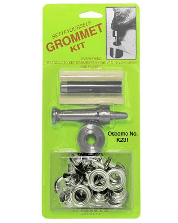 Nickel Plated Brass Grommet Kits