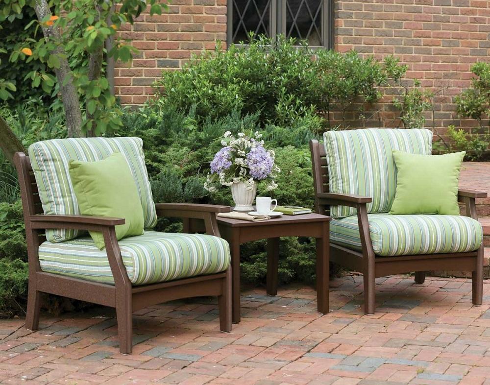 Sunbrella Furniture Fabric - Stripes - JT's Outdoor ...