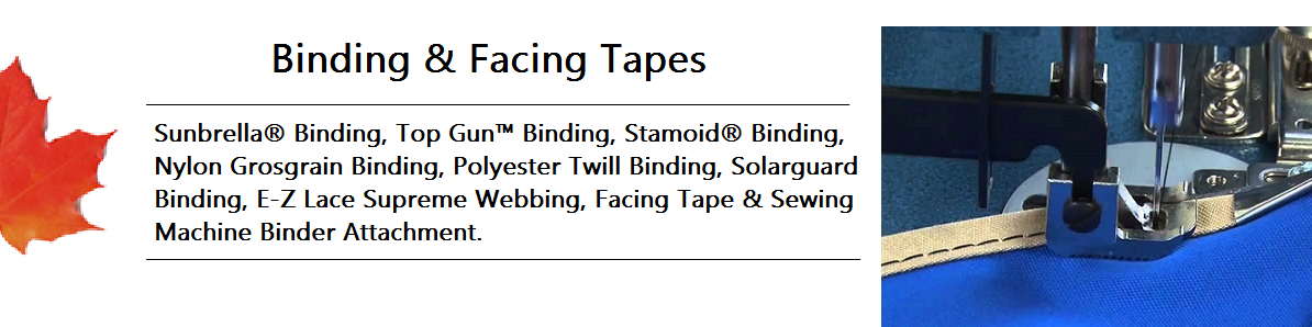 Binding And Facing Tape Banner