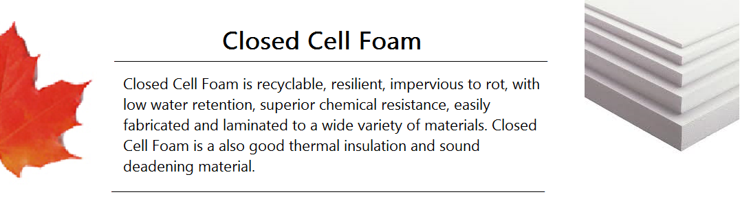 Closed Cell Foam Banner