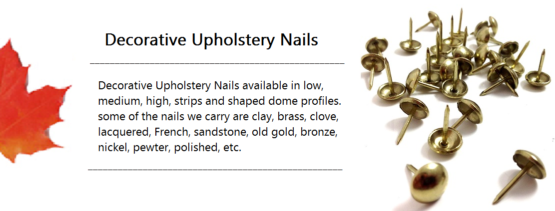 Decorative Upholstery Nail Banner