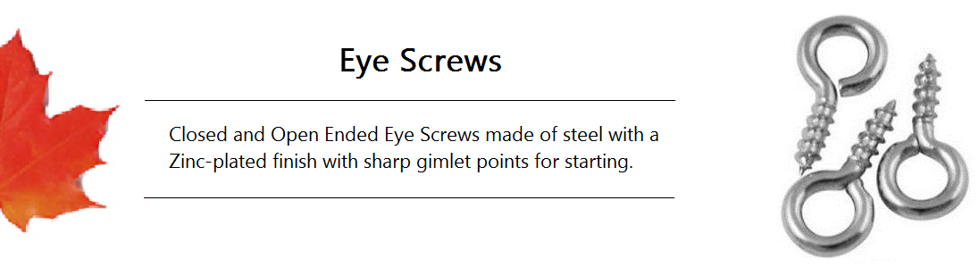 Eye Screw Banner