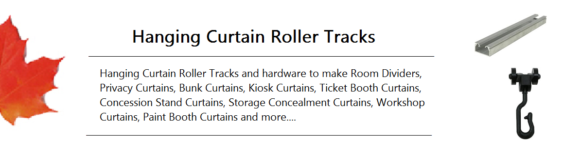 Hanging Curtain Roller Track Banner