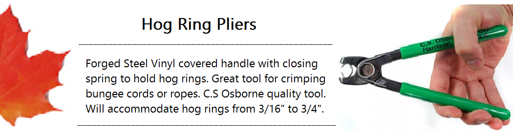 Hog Ring Pliers Banner