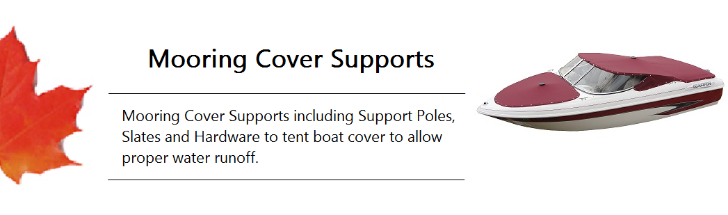 Mooring Cover Support Banner
