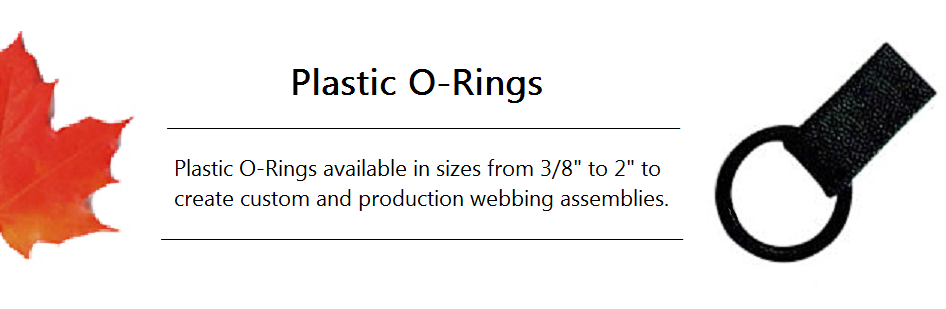 Plastic Delrin Webbing O Rings Jt S Outdoor Fabrics In