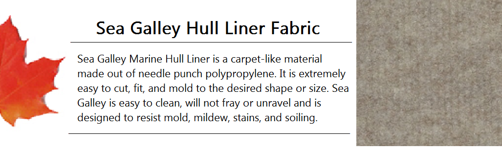 Sea Galley Hull Liner Fabric Banner