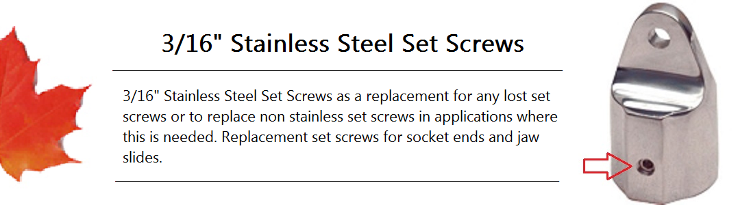 Set Screw Banner