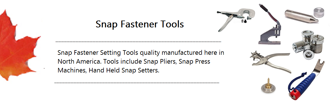 Snap Fastener Tools Banner
