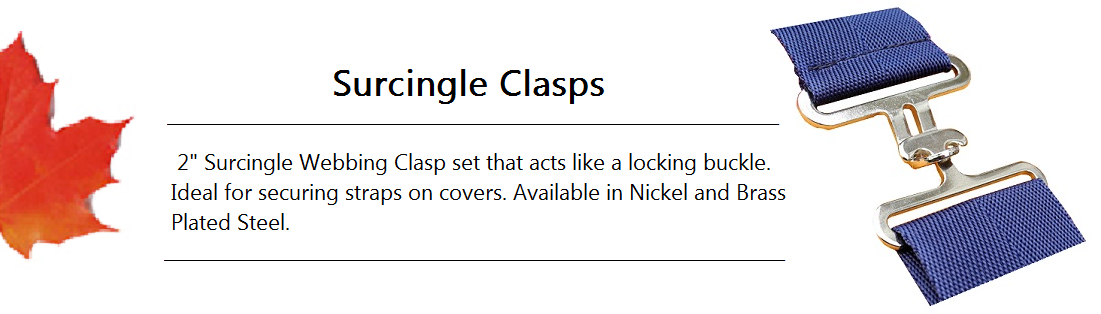 Surcingle Clasp Banner