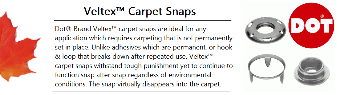 Veltex Carpet Snap Banner