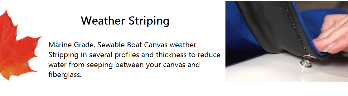 Weather Striping Banner
