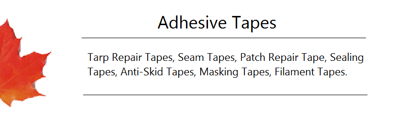 Adhesive Tapes Banner