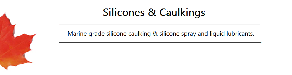 Silicones and Caulkings Banner
