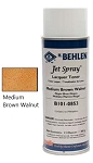 Jet Spray™ Lacquer Medium Brown Walnut