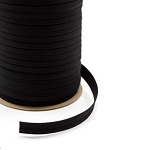 1'' Sunbrella Double Fold Bias Binding - Black