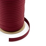 1'' Sunbrella® Double Fold Bias Binding - Burgundy