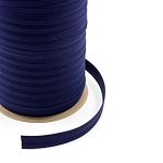 1'' Sunbrella Double Fold Bias Binding - Captain Navy