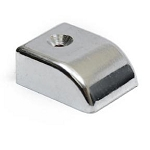 Sliding Track End Cap - Die Cast Zinc