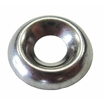#8 Finishing Washer - Stainless Steel