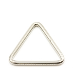 1'' Triangle - Nickel Plated Steel