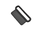1.75'' Rectangular Sewable D-Ring - Black
