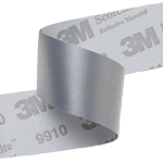Scotchlite™ 8940 FR Industrial Wash Sew-On Silver Reflective Tape