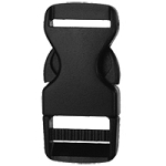 Classic Chamber Single Side Release Buckle - Black