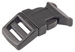 Classic Contour Single Side Release Buckle - Black