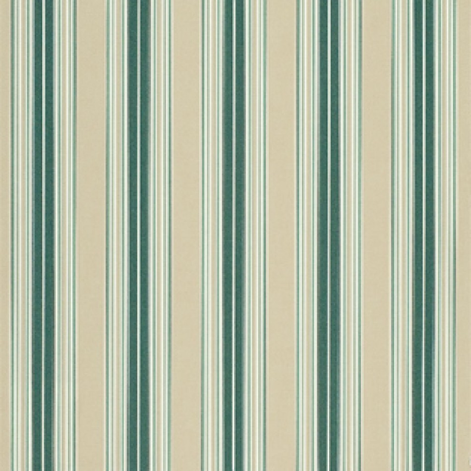 Sunbrella Awning Fabric Forest Green Beige Natural Fancy Stripe