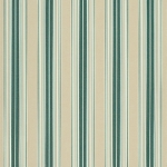 Sunbrella Awning Fabric - Forest Green/Beige/Natural Fancy Stripe - 4932.0000