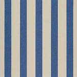 Sunbrella Awning Fabric - Mediterranean/Canvas Block Stripe - 4921.0000