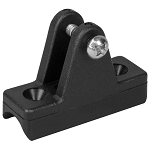 Concave Deck Mount - Delrin Black