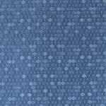 Hexx Vinyl Fabric - Dark Blue