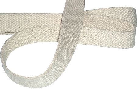 Natural Cotton Webbing Jt S Outdoor Fabrics In Canada