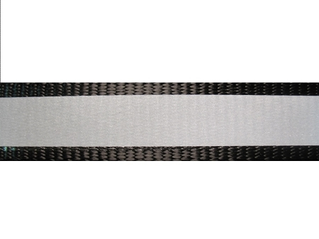 Black Nylon Reflective Webbing