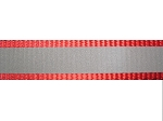 1.75 mm Nylon Reflective Webbing - Red