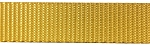 1'' Polyester Webbing - Yellow