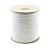 "#4 - 1/8"" Nylon Diamond Braid Cord - White"