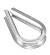 Solamesh 1/4'' Stainless Steel Wire Thimble